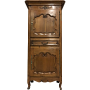 19th Century Antique French Provencal Homme Debout Cabinet