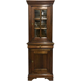 French Louis Philippe Style Curio Cabinet