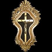 19th Century French Napoleon III Period Crucifix