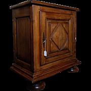 19th Century Antique French Louis XIV Style Oak Cabinet Confiturier