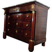 19th Century Antique French Empire Period Commode
