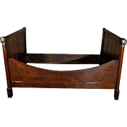 19th Century Antique French Empire Oak Daybed
