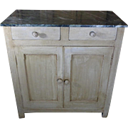 19th Century Antique French Provincial Kitchen Buffet