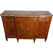 19th Century Antique French Parisian Mahogany Buffet