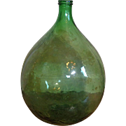 Antique Demijohn Bottle Bonbonne