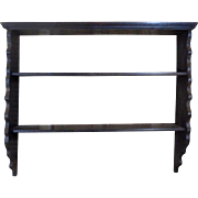 Antique French Pine Shelf From Alsace