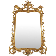 Italian Rococo Style Gilt Mirror