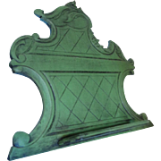 19th Century Antique French Rococo Style Book/ Tablet stand