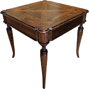 Antique English Regency Style Mahogany Breakfast Table