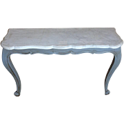 19th Century Antique French Louis XV Style Console