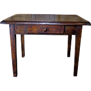 19th Century Antique French Provincial Side Table