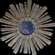 Antique Italian Sunburst Mirror