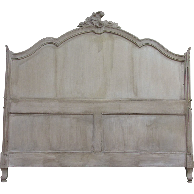 Antique French Louis Xv Rococo Queen Size Headboard Sold