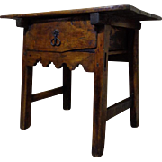 18th Century Antique French Louis XIV Period Side Table