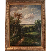 Oil On Canvas Painting Landscape