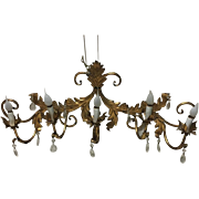 Large French Louis XV Style 5-Light Sconce