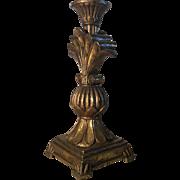 Antique French Regence Style Pedestal Lamp