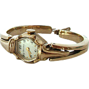 Divine Vintage Rolled Gold Bulova Ladies Watch