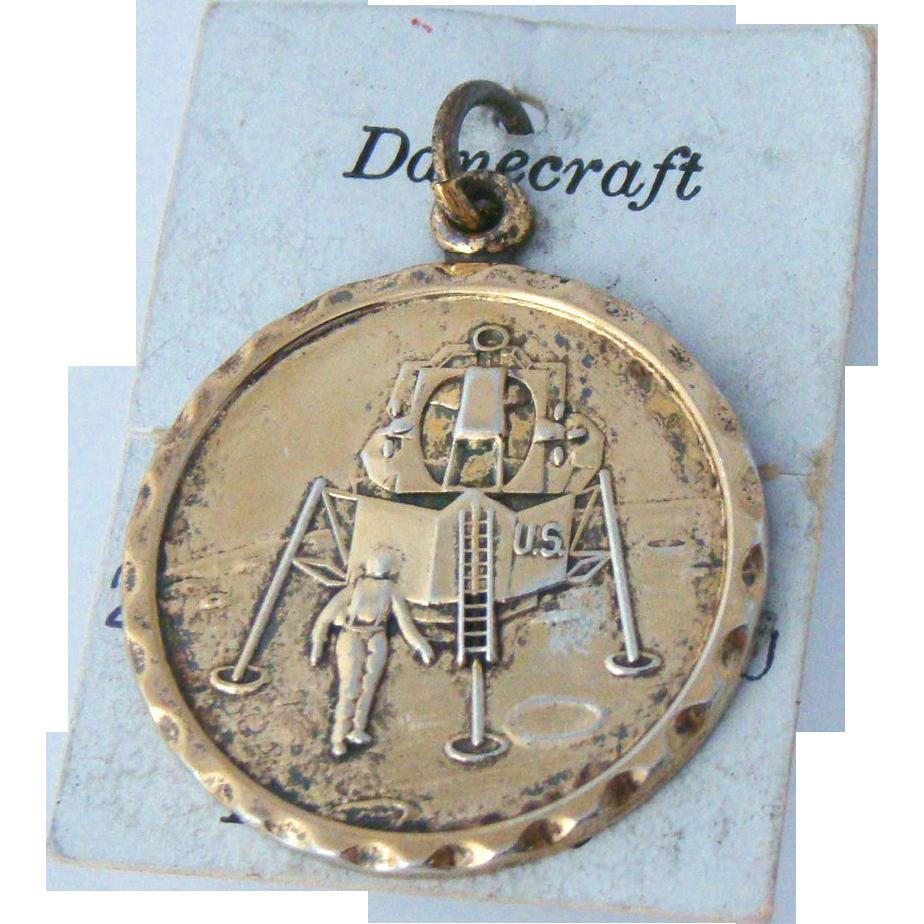 Lunar Landing Charm Original Card Danecraft