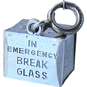 Sterling Emergency Cash Mad Money Vintage Charm