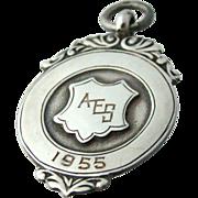 Vintage Sterling Ballet Medal Fully Hallmarked
