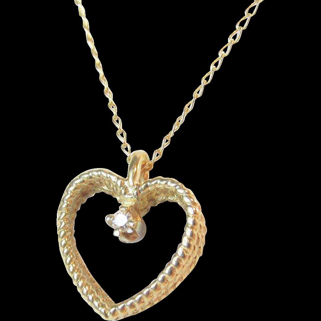 Vintage Pendant Necklace 90