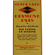 Diamond Dyes Color Card
