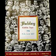 1955 Hubley Toy Catalog