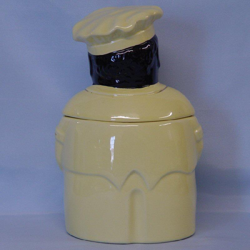 Pearl China Chef Cooky Cookie Jar Red Tag Sale Item