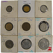French Coin Assortment