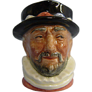 Miniature Royal Doulton Character Jug D6251 Beefeater