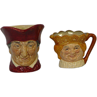 Royal Doulton Jugs, Old King Cole & The Cardinal