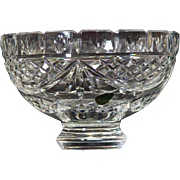 "Waterford Society Crystal Penrose 8"" Bowl"