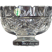 "Waterford Society Crystal 5"" Penrose Bowl"