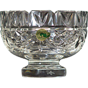"Waterford Society Crystal 5"" Patriots Bowl"
