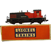 Lionel Postwar 602 Seaboard NW-2 Switcher