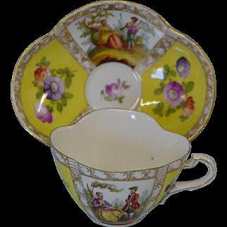 Carl Thieme Cup & Saucer