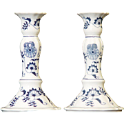 Blue Danube Candle Holders