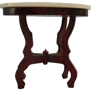 Doll House Marble Top Table
