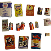 Doll House Miniature Grocery Items