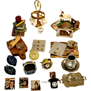 Doll House Miniature Items