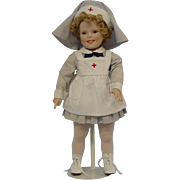 Shirley Temple Red Cross Doll