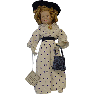 "Shirley Temple Doll ""Bright Eyes"""