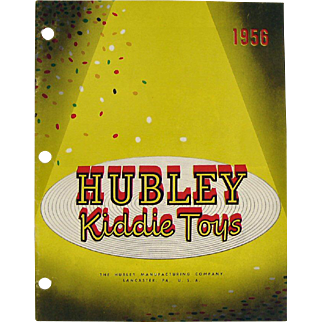 1956 Hubley Toy Catalog