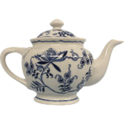 Blue Danube Tea Pot - Red Tag Sale Item