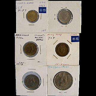 Hong Kong Coin Assortment