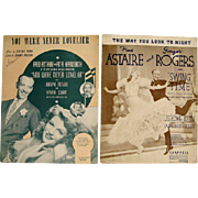 Fred Astaire Sheet Music