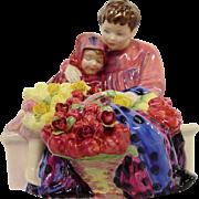 Royal Doulton Flower Sellers Children Figure HN1342