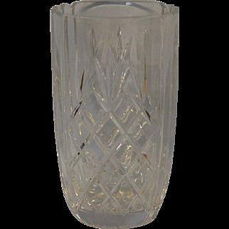Cut Crystal Vase