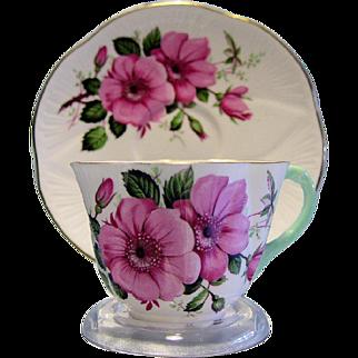 Shelley Cup & Saucer Set